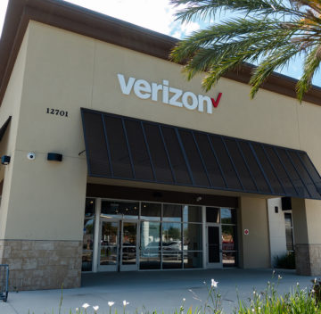 Orlando, FL/USA - -04/29/19:  Verizon Wireless, is an American telecommunications company which offers wireless products and services. Verizon Wireless is the largest wireless telecommunications provider in the United States.